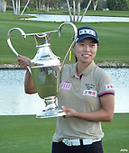 Sun Young Yoo wins the 2012 Kraft Nabisco Championship, picture Joyce Hunnam,  www.golftourimages.com: 29th January 2012