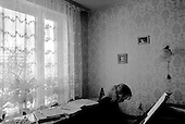 Moscow, Russia  .1998.Anna Skryleva, a 23-year-old concert pianist student at Moscow's Tchaikovsky conservatory, practices at home every day. She has had the opportunity to compete in contests throughout the former Soviet Union and Western Europe..