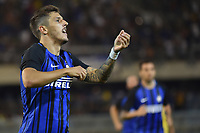 Esultanza Gol Stevan Jovetic Inter Goal celebration <br /> San Benedetto del Tronto 06-08-2017 <br /> Football Friendly Match  <br /> Inter - Villarreal Foto Andrea Staccioli Insidefoto