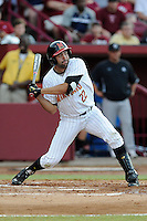 Designated hitter Kyle Convissar (22) of the Maryland Terrapins in an NCAA Division I Baseball Regional Tournament game against the South Carolina Gamecocks on Saturday, May 31, 2014, at Carolina Stadium in Columbia, South Carolina. Maryland won, 4-3. (Tom Priddy/Four Seam Images)