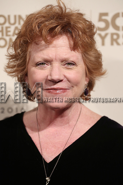 Becky Anne Baker attends the Roundabout Theatre Company's  50th Anniversary Gala at The Waldorf-Astoria on February 29, 2016 in New York City.