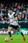 GonCalo Manuel Ganchinho Guedes of Valencia CF in action during the La Liga 2017-18 match between Valencia CF and Villarreal CF at Estadio de Mestalla on 23 December 2017 in Valencia, Spain. Photo by Maria Jose Segovia Carmona / Power Sport Images