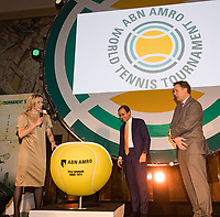 Rotterdam, Netherlands, 09 Februari, 2018, City Hall, Official Draw,   <br /> Photo: Tennisimages/Henk Koster