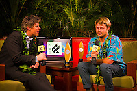 Haleiwa Hawaii, (Monday December 6, 2010) .Monday, Dane Reynolds (USA).   40th annual SURFER Poll Awards were held tonight at Turtle Bay Resort on Oahu's North Shore..Sal Masekela (USA)  returned to serve as the Master of Ceremonies for the event with charismatic Hawaiian surf star Fred Patacchia as co-host .This year's SURFER Poll Awards were held in honor of recently lost legend, three-time World Champion Andy Irons. While acknowledging all of the surfers lost this year, the event  put a heavy focus on Andy and the legacy he leaves behind in and out of the water. Another focal point of this year's show was  Kelly Slater's 10th world title win. Touted as the world's most dominant athlete, Kelly's accomplishments have catapulted the sport of surfing and garnered the world's attention. Kelly was award the male Surfer of the Year award with Stephanie Gilmore (AUS) taking out the Female Surfer of the Year..Photo: joliphotos.com
