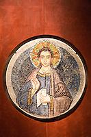Mosaic inside Saint Mark's Basilica, Venice, Italy