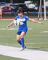 Boston Breakers forward Kate Howarth (3).  In a National Women's Soccer League Elite (NWSL) match, Sky Blue FC defeated the Boston Breakers, 3-2, at Dilboy Stadium on June 16, 2013
