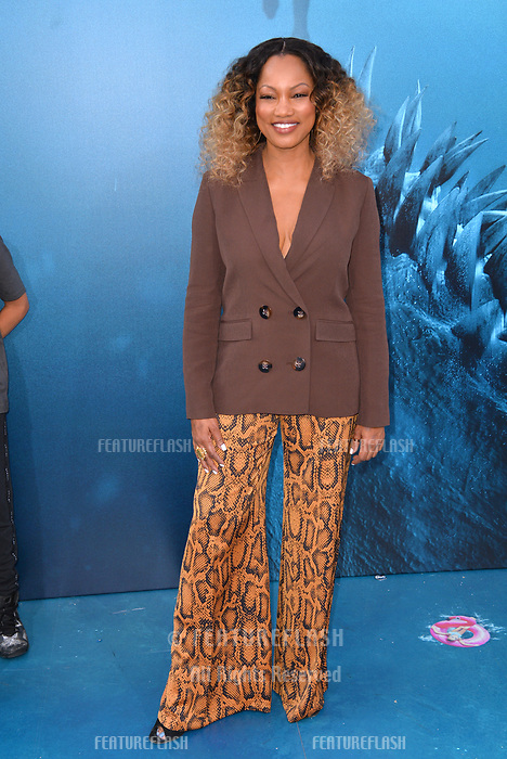 "LOS ANGELES, CA - August 06, 2018: Garcelle Beauvais at the US premiere of ""The Meg"" at the TCL Chinese Theatre"