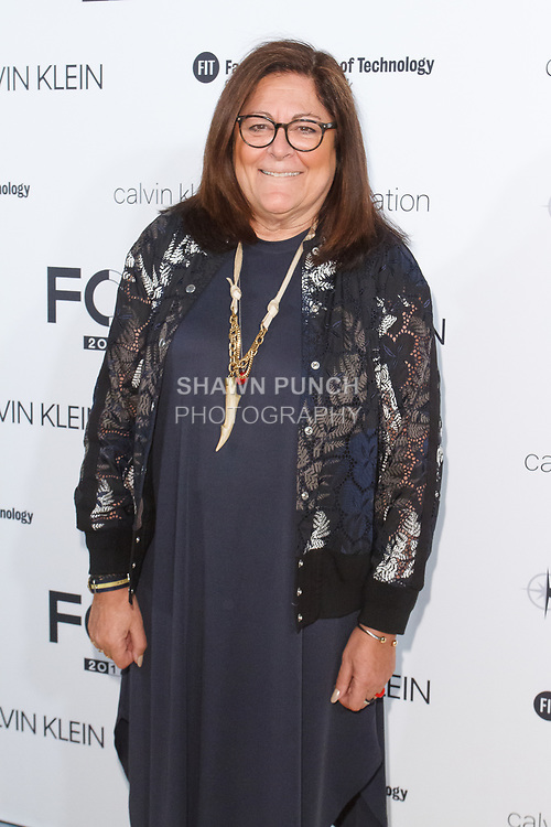 Fern Mallis arrives at the Future of Fashion 2017 runway show at the Fashion Institute of Technology on May 8, 2017.