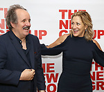"John Pankow and Edie Falco attends the New Group World Premiere of ""The True"" on September 20, 2018 at The Green Fig Urban Eatery in New York City."