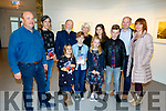 The Mulcahy family at the launch of the Louis Mulcahy poetry book in Siamsa Tire on Sunday.