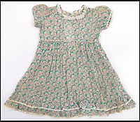BNPS.co.uk (01202 558833)Pic: Burstow&amp;Hewett/BNPS<br /> <br /> Some of the royal baby clothes kept by their nanny Clara Knight.<br /> <br /> The Queen's garments given to her by the former royal nurse - Clara Knight<br /> <br /> Five of the Queen's dolls and a selection of her childhood clothes have emerged for sale.<br /> <br /> The garments and toys were given to the former royal nurse Clara Knight who looked after Queen Elizabeth in her early years while the Queen Mother was undertaking ceremonial duties.<br /> <br /> There are approximately 20 garments in the collection including infants dresses and matching undergarments, many in silks and linen and some in early man made fabrics.