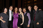 Mimi Bessette - Sean McDermott - Glory Crampson - Melissa van der Schyff - Ric Ryder - Claybourne Elder - Victor Hernandezas they support the Broadway Extravaganza to honor the Candidacy of Artist Jane Elissa for the Leukemia & Lymphoma Society, Man & Woman of the Year on April 23, 2012 at the New York Marriott Marquis, New York City, New York.  (Photo by Sue Coflin/Max Photos)