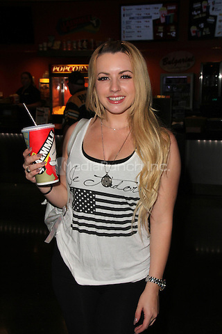 Lexi Belle at the Samurai Cop 2 Deadly Vengeance Premiere at  Laemmle in North Hollywood, California on October 9, 2015. Credit: David Edwards/MediaPunch