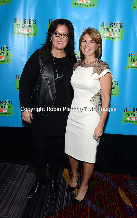 Rosie O'Donnell and Nicole Wallace attend Rosie O'Donnell's 11th Annual Rosie's Theater Kids Gala on September 22, 2014 at The New York Marriott Marquis in New York City. <br /> <br /> photo by Robin Platzer/Twin Images<br />  <br /> phone number 212-935-0770