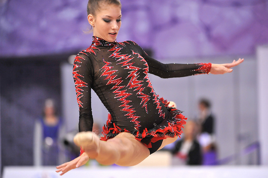 September 23, 2014 - Izmir, Turkey -  THEMIDA CHRISTODOULIDOU of Cyprus performs at 2014 World Championships.