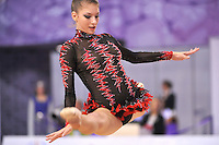 September 23, 2014 - Izmir, Turkey -  THEMIDA CHRISTODOULIDOU of Cyprus performs at 2014 World Championships.