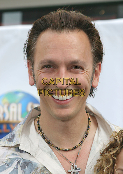 STEVE VALENTINE .Evan Almighty Premiere held at the  Gibson Amphitheatre & Citywalk Cinemas, Universal City, California, USA..June 10th, 2007.headshot portrait beads beaded necklace.CAP/ADM/CH.©Charles Harris/AdMedia/Capital Pictures
