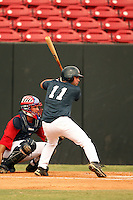 September 15, 2009:  Ladson Montgomery, one of many top prospects in action, taking part in the 18U National Team Trials at NC State's Doak Field in Raleigh, NC.  Photo By David Stoner / Four Seam Images