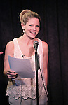 Kelli O'Hara performing at the Seth Rudetsky Book Launch Party for 'Seth's Broadway Diary' at Don't Tell Mama Cabaret on October 22, 2014 in New York City.