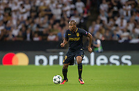 Djibril Sidibe of Monaco during the UEFA Champions League Group stage match between Tottenham Hotspur and Monaco at White Hart Lane, London, England on 14 September 2016. Photo by Andy Rowland.