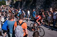 Maxime Monfort (BEL/Lotto-Soudal) cheered on towards the Citt&agrave; Alta in bergamo<br /> <br /> Stage 15: Valdengo &rsaquo; Bergamo (199km)<br /> 100th Giro d'Italia 2017