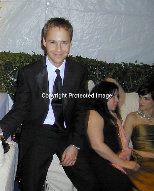 Chad Lowe &amp; Hillary Swank<br />2000 Vanity Fair Post Oscar Party<br />Morton's Restaurant<br />Los Angeles, California, USA<br />March 26, 2000<br />Photo by Celebrityvibe.com
