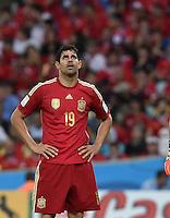 FUSSBALL WM 2014  VORRUNDE    Gruppe B     Spanien - Chile                           18.06.2014 Diego Costa (Spanien) ist enttaeuscht