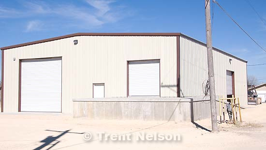 Eldorado - griffin oil building, built by FLDS. Friday, January 9, 2009.; 01.09.2009.