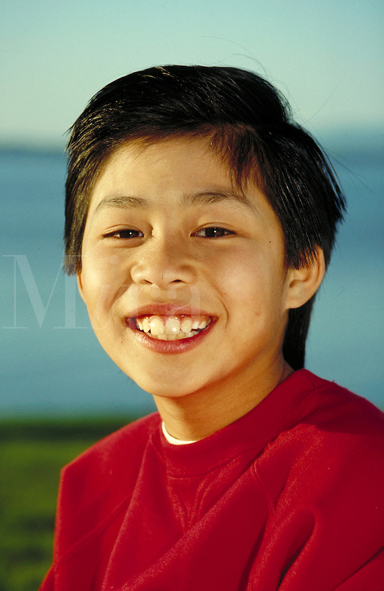 VIETNAMESE-AMERICAN BOY. VIETNAMESE-AMERICAN BOY. SAN RAFAEL CALIFORNIA USA.