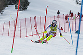 17th March 2018, Àvet Slope, Soldeu, Andorra; FIS Alpine Ski European Cup, Slalom Ladies Finals; #16 KOPP Rahel from SUI  during the Slalom Final