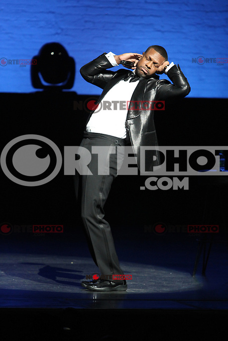 "NEW YORK, NY - DECEMBER 13....Chris Tucker performs on his ""Guess Who's Back Tour at the Apollo Theater December 13, 2012 in Harlem USA in New York City.RTNGoshorn/Mediapunchinc"