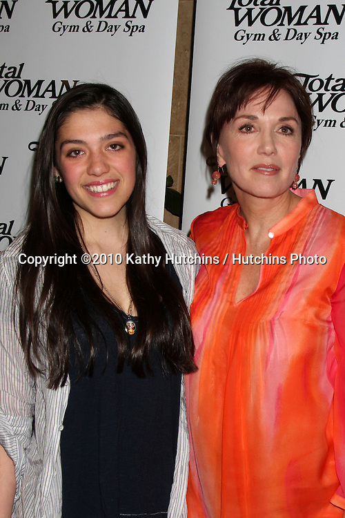 (l)Stepfanie Kramer & (r) Daughter Lily Claire Richards.at the Women's History Month Celebrity Red Carpet Event .Total Woman Gym & Day Spa.Woodland Hills, CA.March 31, 2010.©2010 Kathy Hutchins / Hutchins Photo....