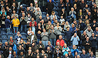 Preston North End fans enjoy the pre-match atmosphere <br /> <br /> Photographer Kevin Barnes/CameraSport<br /> <br /> The EFL Sky Bet Championship - Preston North End v Barnsley - Saturday 5th October 2019 - Deepdale Stadium - Preston<br /> <br /> World Copyright © 2019 CameraSport. All rights reserved. 43 Linden Ave. Countesthorpe. Leicester. England. LE8 5PG - Tel: +44 (0) 116 277 4147 - admin@camerasport.com - www.camerasport.com