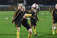 20191108 - Zapresic , BELGIUM : Belgian Elke Van Gorp pictured during the female soccer game between the womensoccer teams of  Croatia and the Belgian Red Flames , the third women football game for Belgium in the qualification for the European Championship round in group H for England 2021, friday 8 th october 2019 at the NK Inter Zapresic stadium near Zagreb , Croatia .  PHOTO SPORTPIX.BE | DAVID CATRY