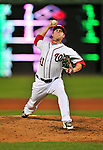 6 September 2011: Washington Nationals pitcher Brad Peacock on the mound against the Los Angeles Dodgers at Nationals Park in Washington, District of Columbia. The Dodgers defeated the Nationals 7-3 to take the second game of their 4-game series. Mandatory Credit: Ed Wolfstein Photo
