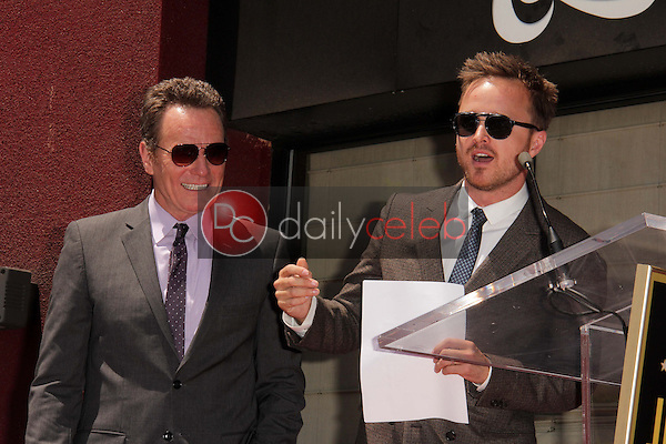 Bryan Cranston, Aaron Paul<br />
