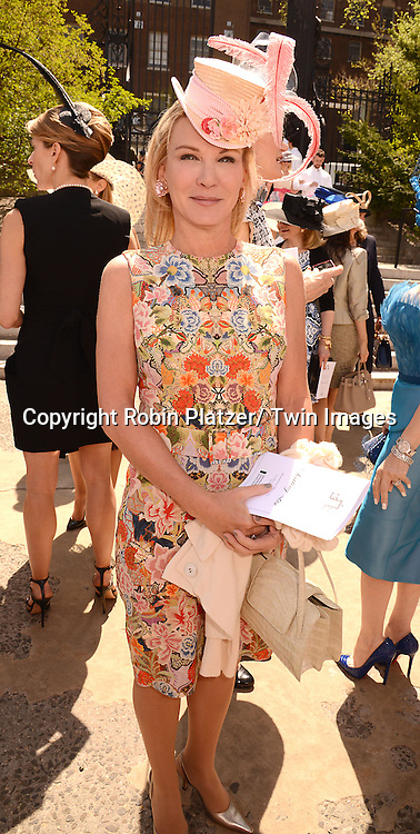 Jamie Connor attends the 32nd Annual Frederick Law Olmsted Awards Hat Luncheon given by The Central Park Conservancy on May 7,2014 in Central Park in New York City, NY USA.