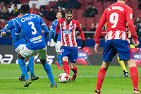 Atletico de Madrid Yannick Carrasco and Lleida Esportiu Mousa Bandeh during King's Cup match between Atletico de Madrid and Lleida Esportiu at Wanda Metropolitano in Madrid, Spain. January 09, 2018. (ALTERPHOTOS/Borja B.Hojas) /NortePhoto.com NORTEPHOTOMEXICO