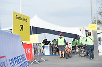 Picture by Allan McKenzie/SWpix.com - 24/09/2017 - Cycling - HSBC UK City Ride Liverpool - Albert Dock, Liverpool, England - HSBC UK, Lets ride, city ride, branding, Hub.