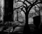 In the shadows of the National Gallery of Art, Washington, DC.