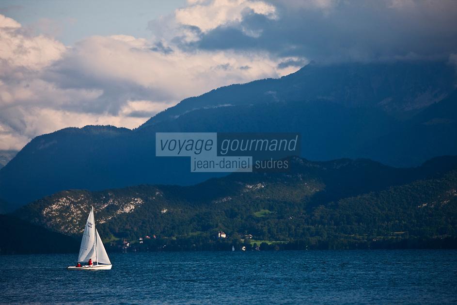 Europe/France/Rhône-Alpes/74/Haute-Savoie/Annecy: Le  Lac d'Annecy