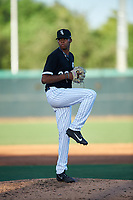 AZL White Sox relief pitcher Garvin Alston (39) during an Arizona League game against the AZL Royals at Camelback Ranch on June 19, 2019 in Glendale, Arizona. AZL White Sox defeated AZL Royals 4-2. (Zachary Lucy/Four Seam Images)
