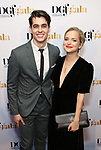 Kyle Selig and Stephanie Styles attends the cocktail party for the Dramatists Guild Foundation 2018 dgf: gala at the Manhattan Center Ballroom on November 12, 2018 in New York City.