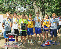 The Fatima Comets captured the 1A-2A Varsity Boys title scoring 34 points to outdistance central Missouri rival Russelville, 34-110.