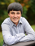 10-15-13, Cole Pieszchala senior portraits