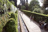 Le fontane di Villa d'Este a Tivoli.<br /> Fountains at Villa d'Este, Tivoli.<br /> UPDATE IMAGES PRESS/Riccardo De Luca