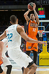 Real Madrid Walter Tavares and Valencia Basket Erick Green during Liga Endesa match between Real Madrid and Valencia Basket at Wizink Center in Madrid , Spain. March 25, 2018. (ALTERPHOTOS/Borja B.Hojas)