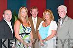 BANQUET: Enjoying the FAI banquet in The Malton Hotel, Killarney, last Friday.evening were, l-r: Michael Carr and Martina Horgan-Carr, Ballybunion, Sean OKeeffe.and Sandra OKeeffe, Asdee, and Don ODonoghue, Killarney.