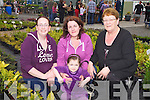 Showing for support for the Kerry Parents &  Friends Association was Siobhan Long, Noreen and Emma Casey with Mary Ann Long at the annual garden Fete held last Sunday afternoon in Listowel.