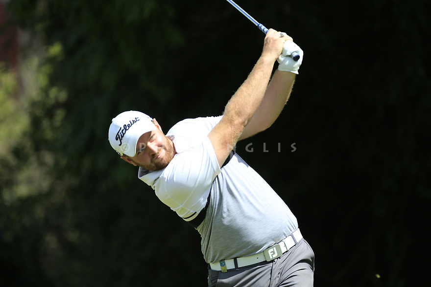 Max Orrin (ENG) during the third round of the Barclays Kenya Open played at Muthaiga Golf Club, Nairobi, Kenya 22nd - 25th March 2018 (Picture Credit / Phil Inglis) 22/03/2018<br /> <br /> <br /> All photo usage must carry mandatory copyright credit (&copy; Golffile | Phil Inglis)